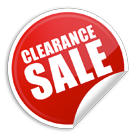 Clearance-Product-page-sticker