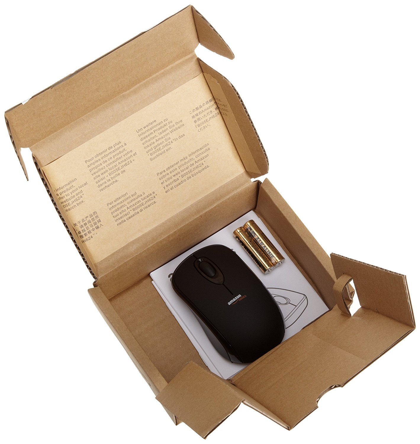 amazonbasics wireless mouse with nano receiver tropical computers ltd. Black Bedroom Furniture Sets. Home Design Ideas